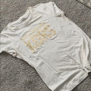 Michael kors white t shirt